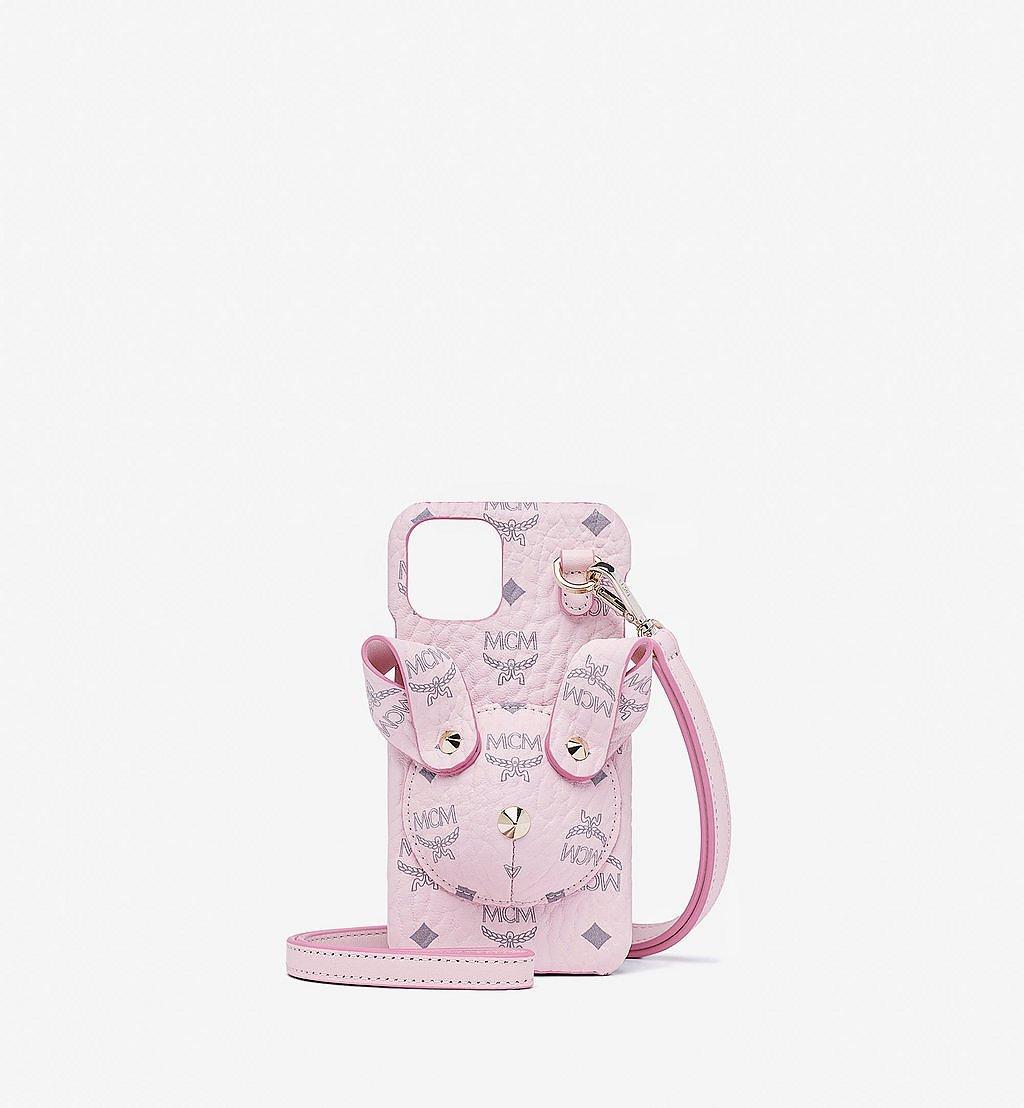 MCM iPhone 11 Pro Hülle Hase in Visetos Pink MXEBSMM01QH001 Noch mehr sehen 1