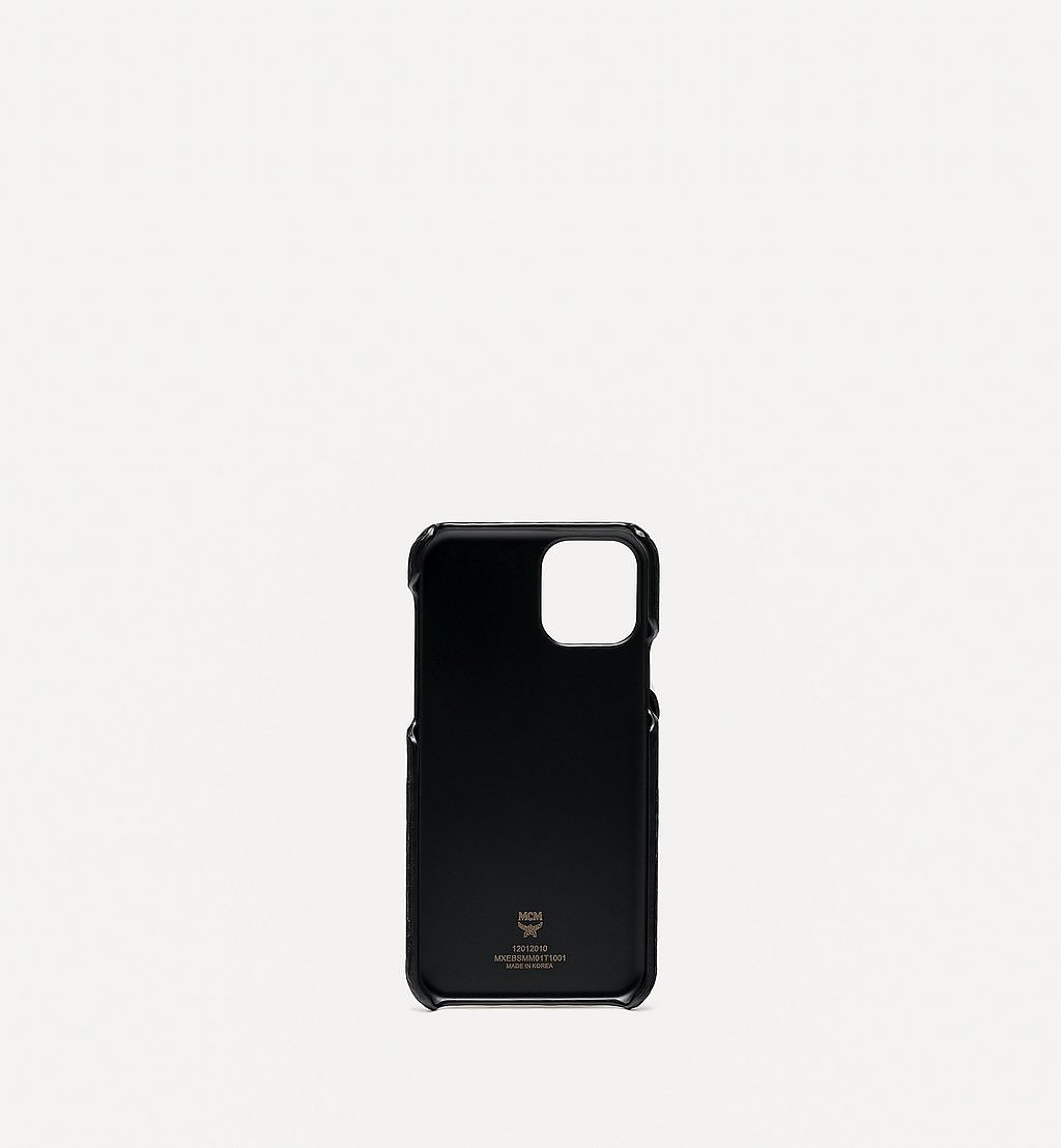 MCM Rabbit iPhone 11 Pro Case in Visetos Gold MXEBSMM01T1001 Alternate View 1