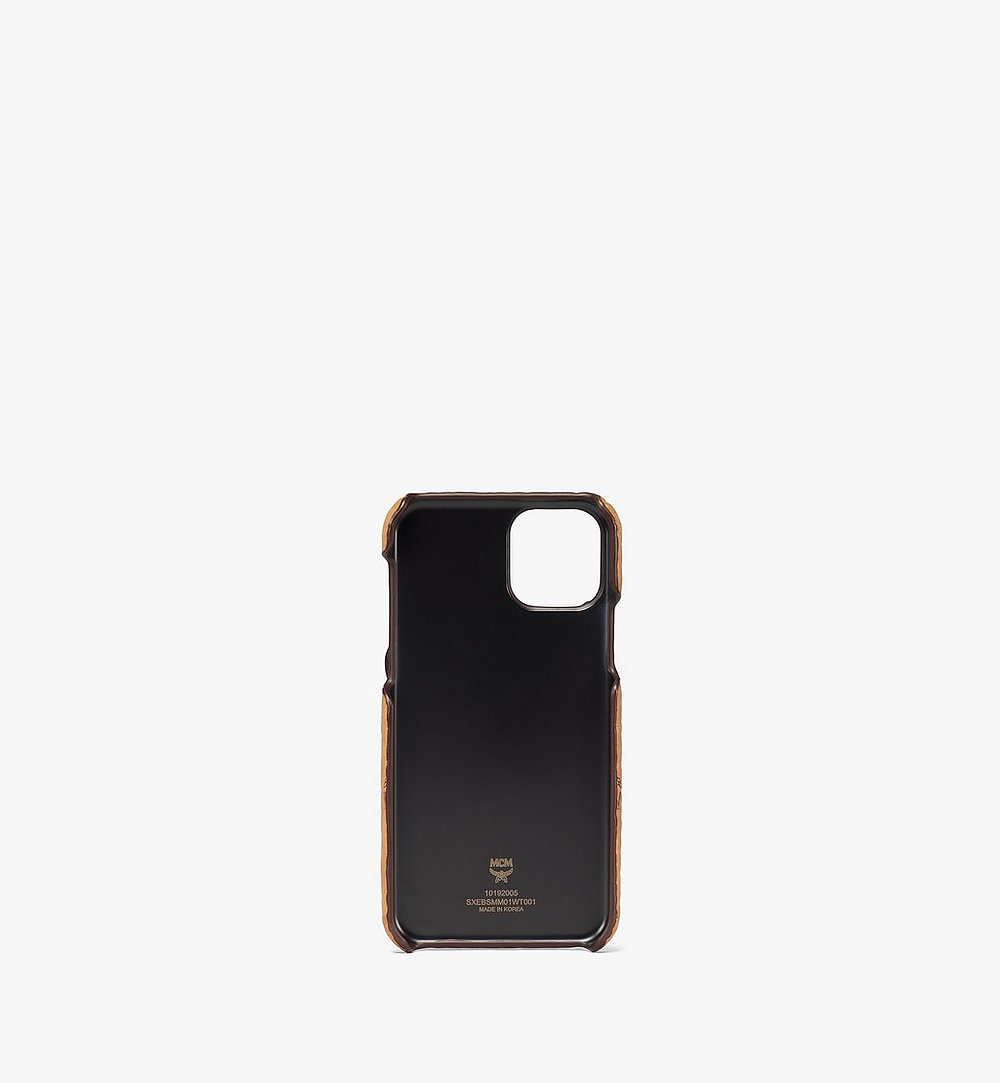 MCM Rabbit iPhone 11 Pro Case in Visetos White MXEBSMM01WT001 Alternate View 1