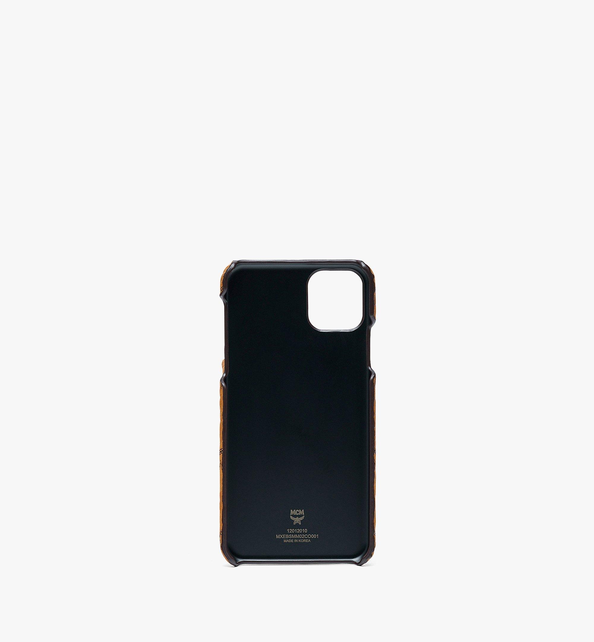 MCM 비세토스 래빗 iPhone 11 Pro Max 케이스 Cognac MXEBSMM02CO001 다른 각도 보기 1