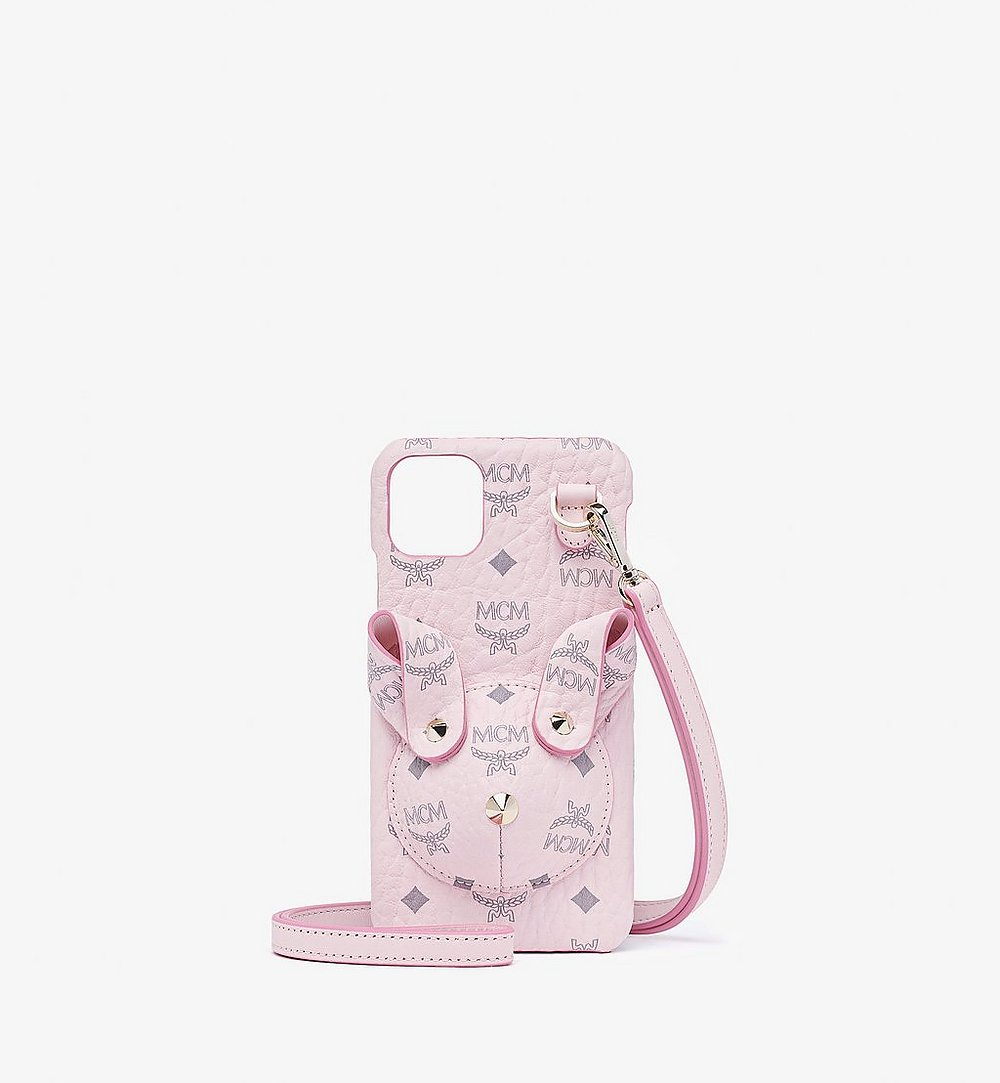 MCM Visetos兔子iPhone 11 Pro Max保护套 Pink MXEBSMM02QH001 更多视角 1