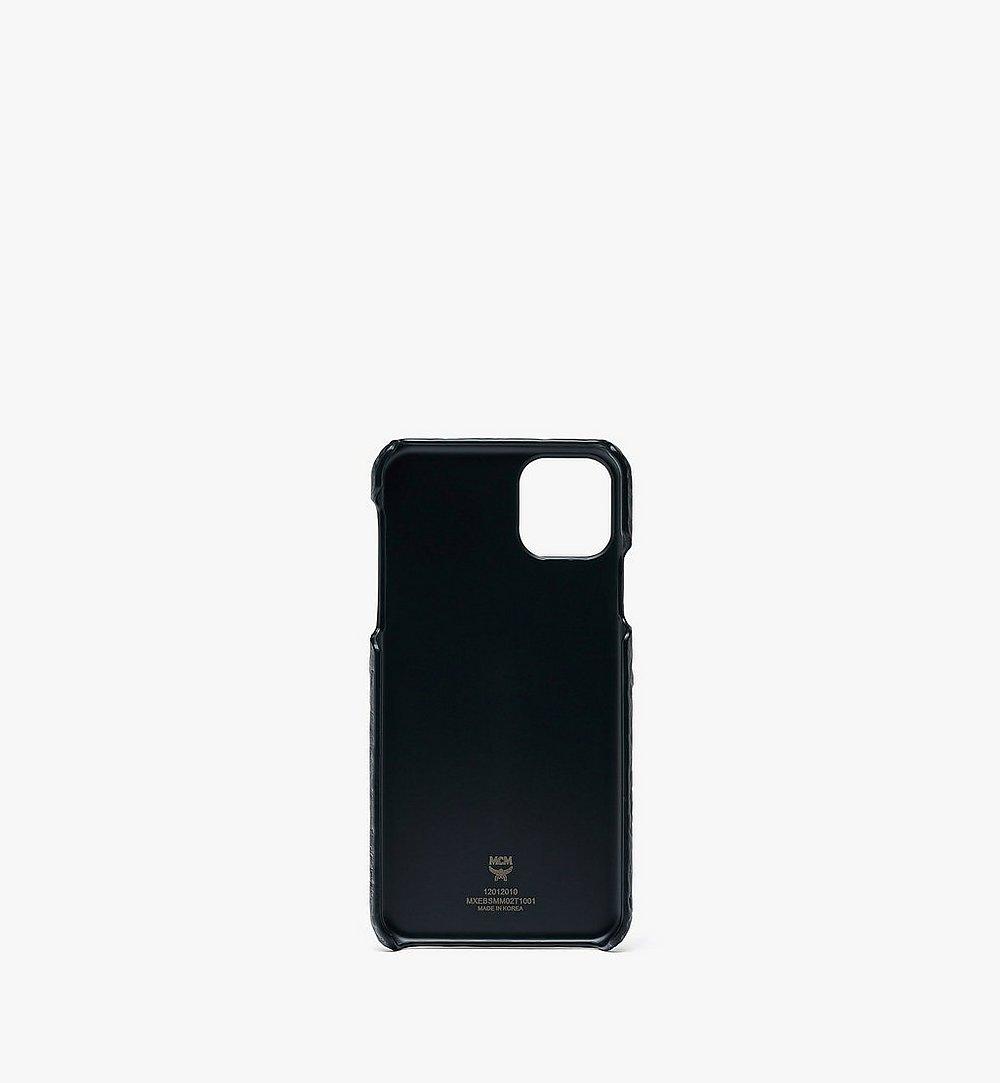 MCM Rabbit iPhone 11 Pro Max Case in Visetos Gold MXEBSMM02T1001 Alternate View 1