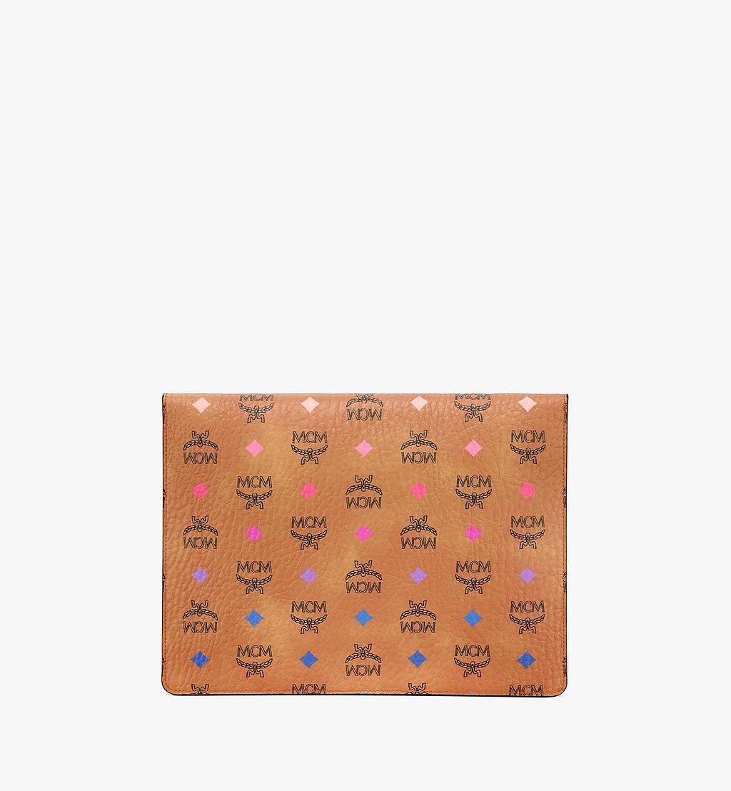 "MCM 11"" iPad-Hülle in Skyoptic Visetos Cognac MXEBSSV04CA001 Noch mehr sehen 2"