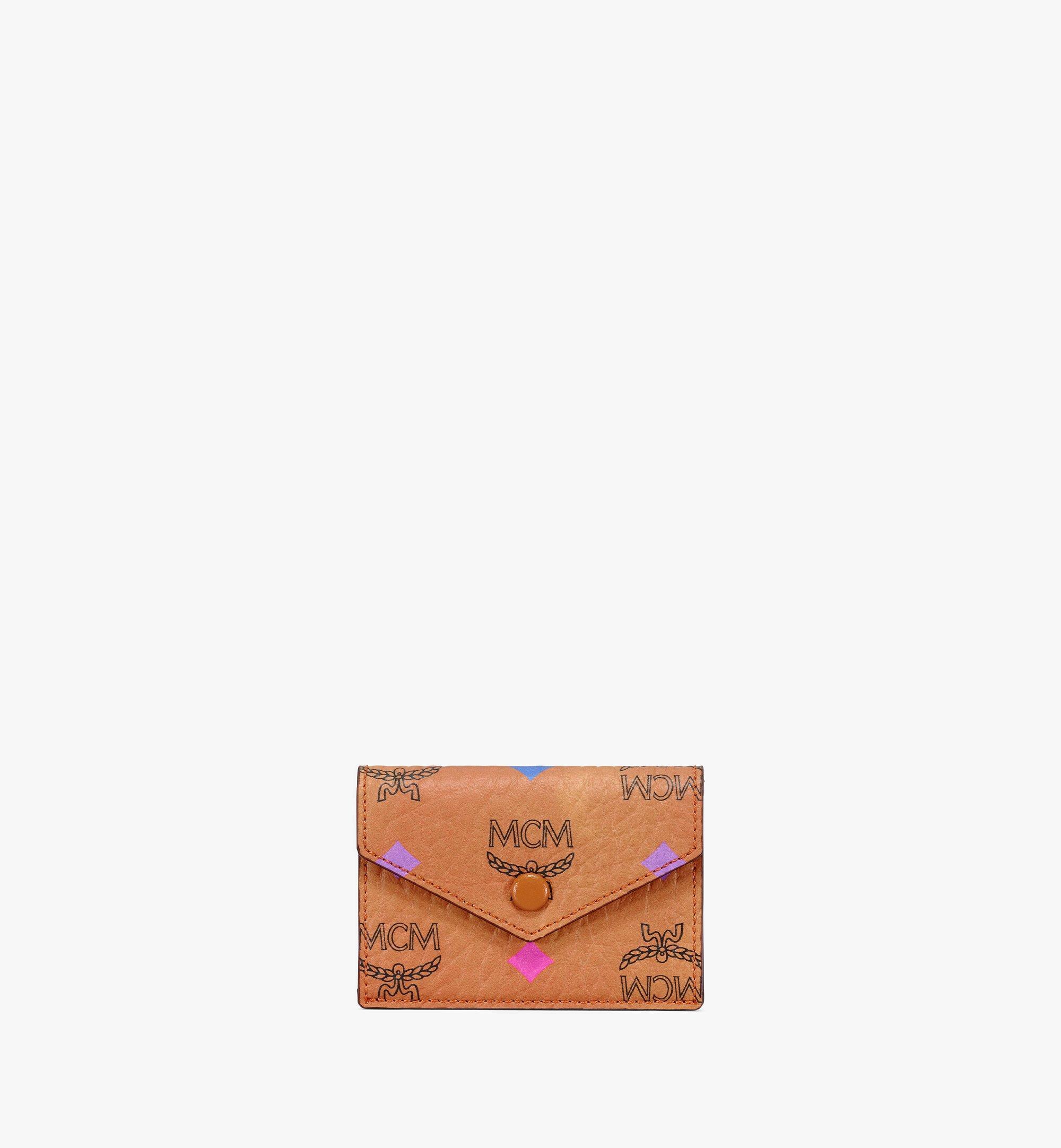 MCM iPad Sleeve in Skyoptic Visetos Cognac MXEBSSV04CA001 Alternate View 4
