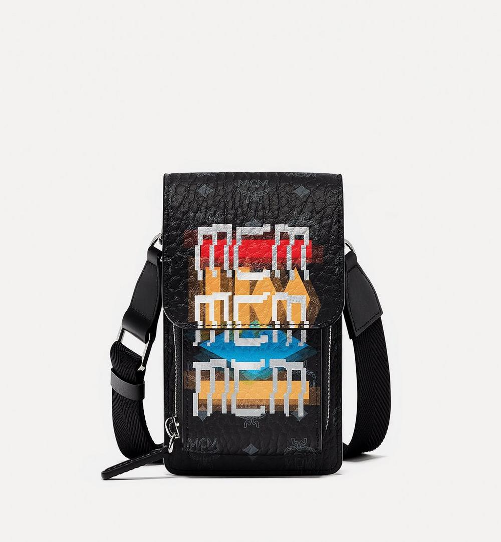 Crossbody Phone Case in Geo Graffiti Visetos 1