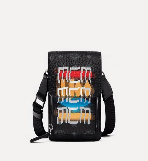Crossbody Phone Case in Geo Graffiti Visetos