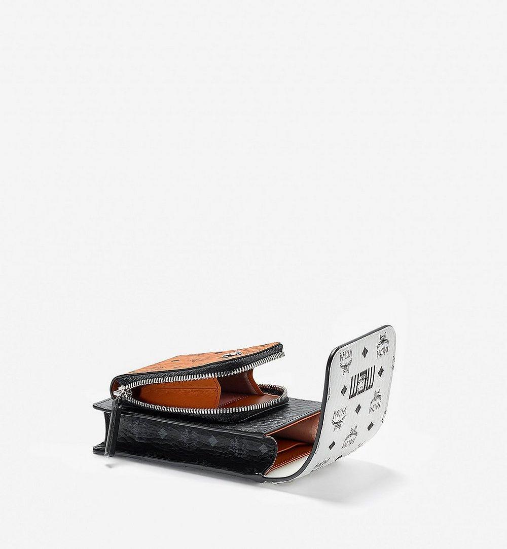 MCM 비세토스 믹스 크로스바디 휴대폰 케이스 White MXEBSVI04WT001 다른 각도 보기 2