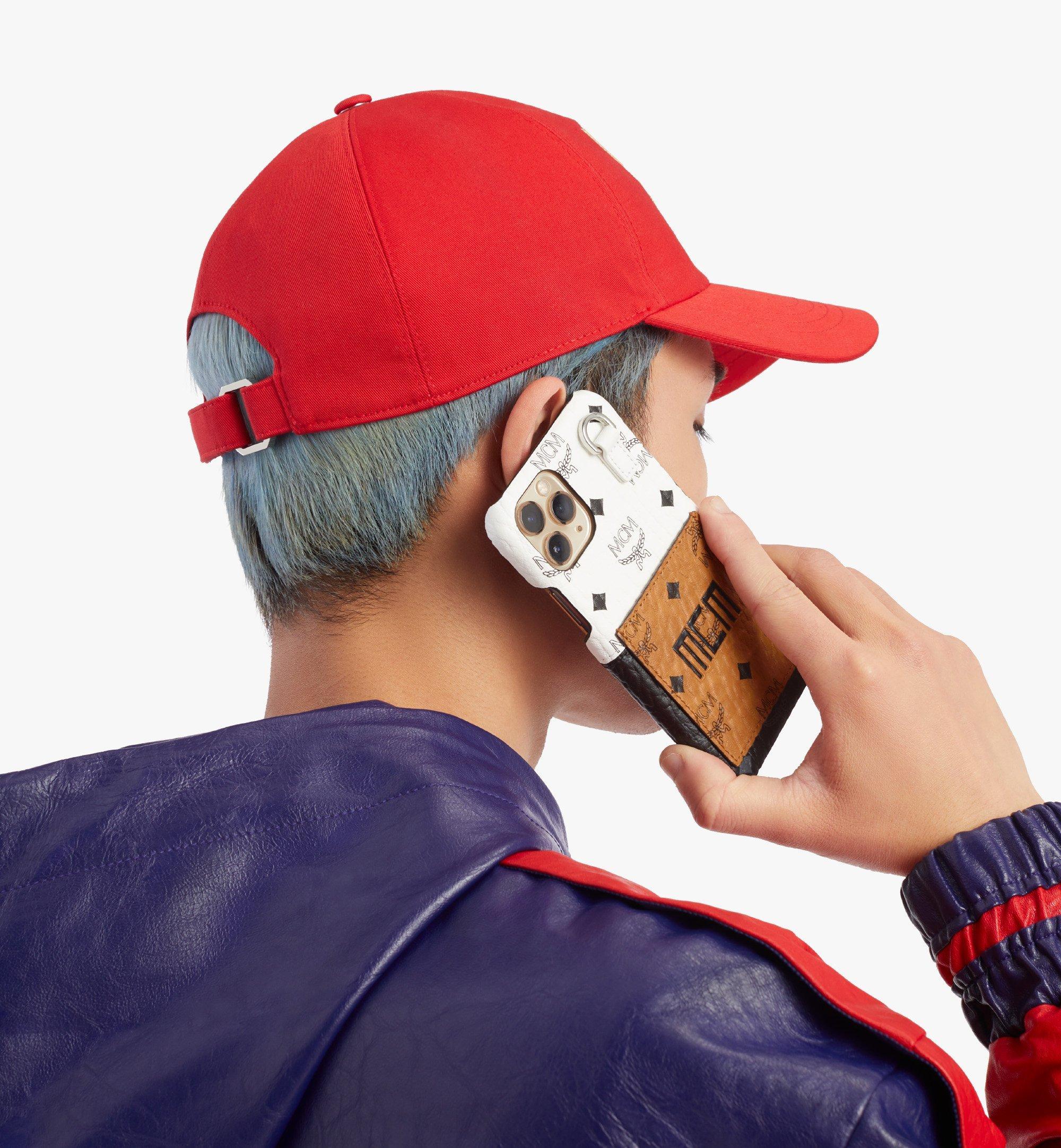 MCM iPhone 11 Pro Case in Visetos Mix Cognac MXEBSVI05CO001 Alternate View 2