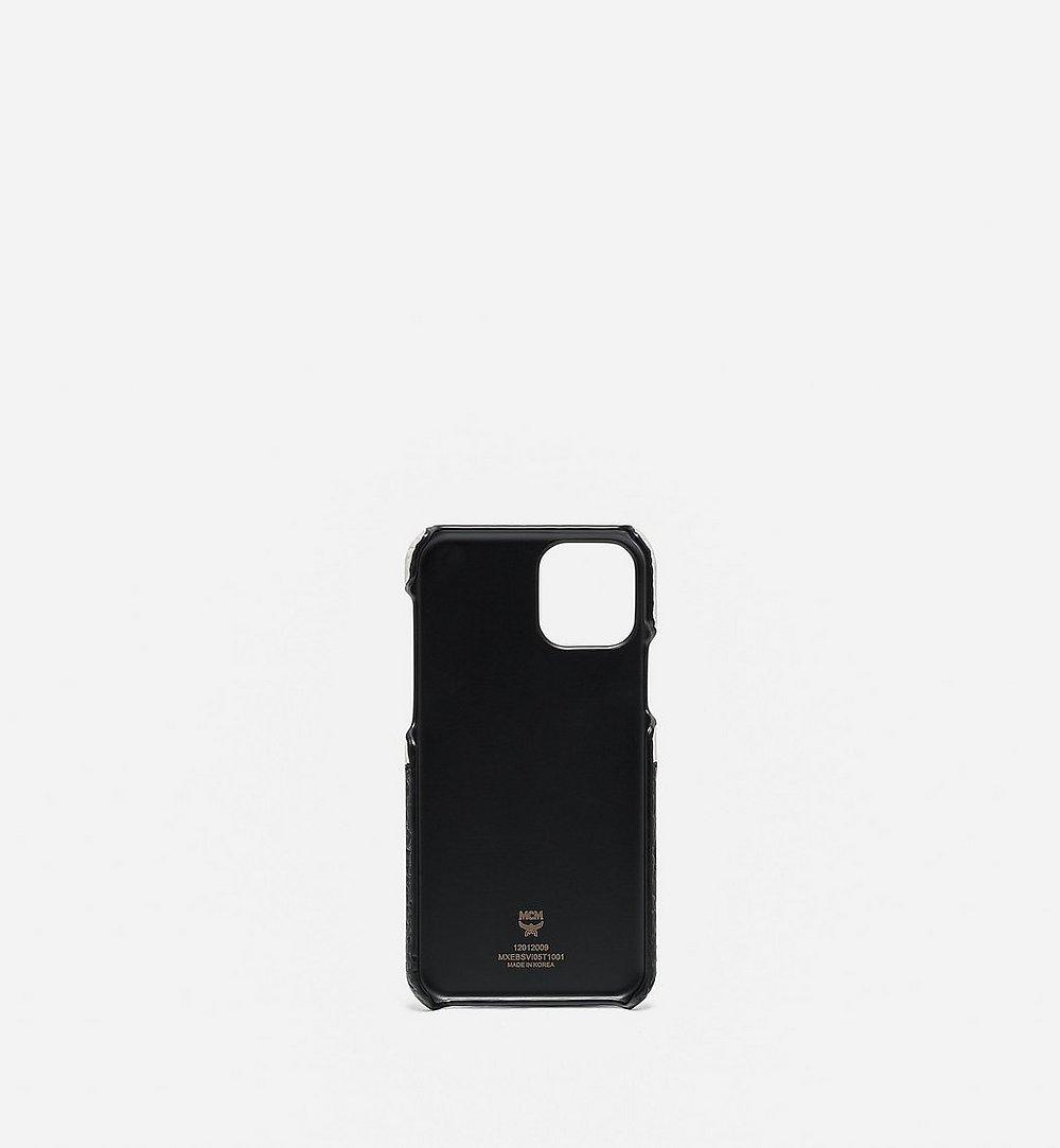 MCM 비세토스 믹스 iPhone 11 Pro 케이스 Gold MXEBSVI05T1001 다른 각도 보기 1