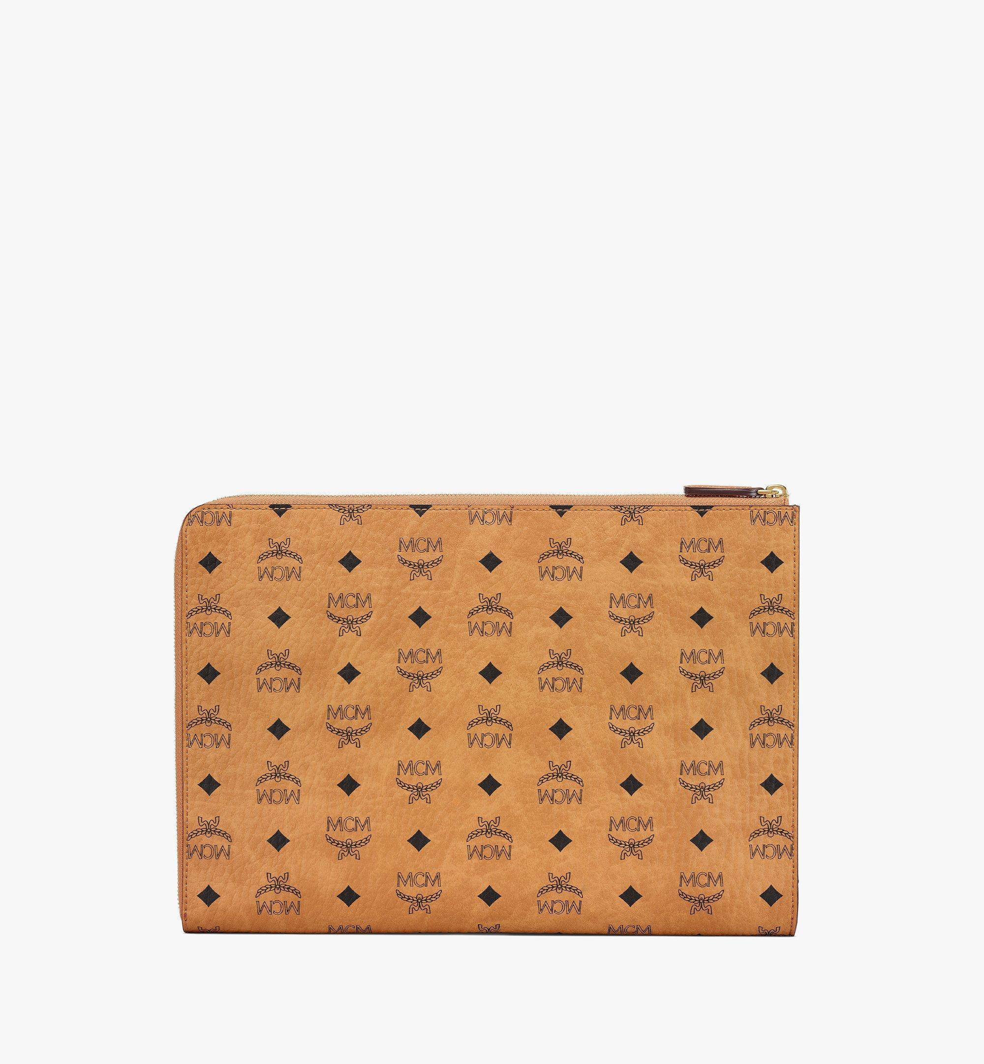"""MCM 13"""" Notebookhülle in Visetos Original Cognac MXEBSVI11CO001 Noch mehr sehen 2"""