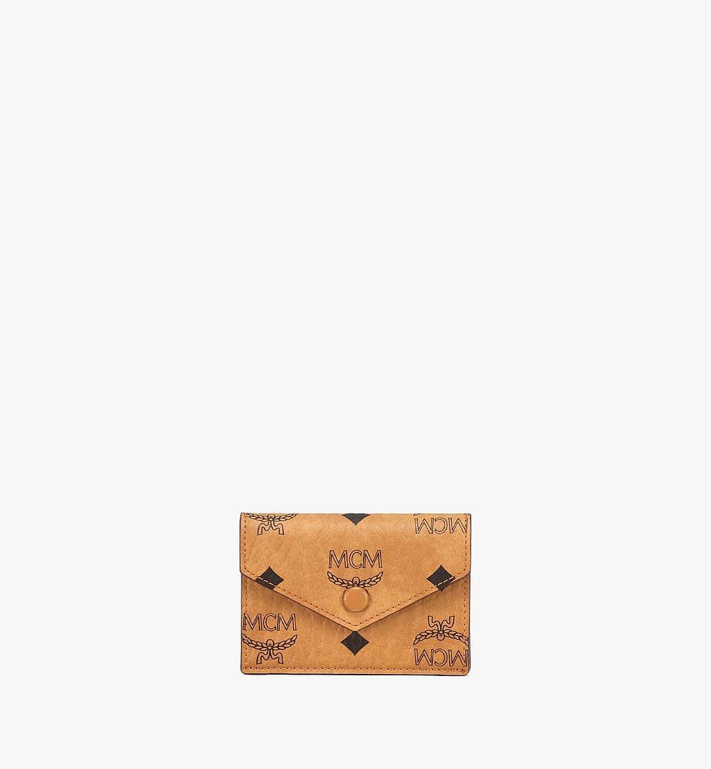 """MCM 13"""" iPad-Hülle in Visetos Original Cognac MXEBSVI12CO001 Noch mehr sehen 5"""