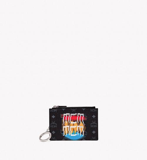 Key Pouch in Geo Graffiti Visetos