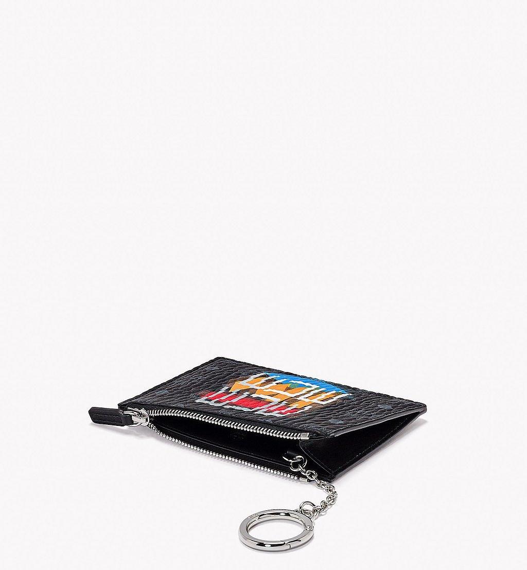 MCM Pouch mit Schlüsselanhänger in Geo Graffiti Visetos Black MXKBSSX01BK001 Noch mehr sehen 1