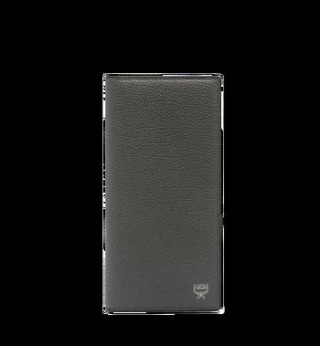 MCM Ottomar Long Bifold Wallet in Grained Leather MXL7SOT02EC001 AlternateView