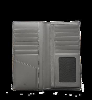 MCM Ottomar Long Bifold Wallet in Grained Leather MXL7SOT02EC001 AlternateView4