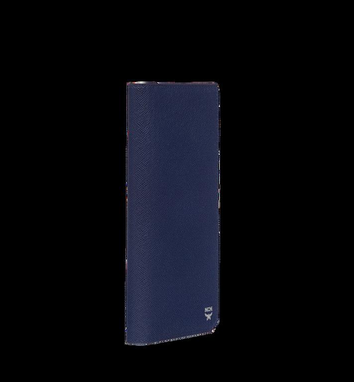MCM 〈ニュー ブリック〉エンボスレザー 二つ折り長財布 Navy MXL8ALL50VY001 Alternate View 2