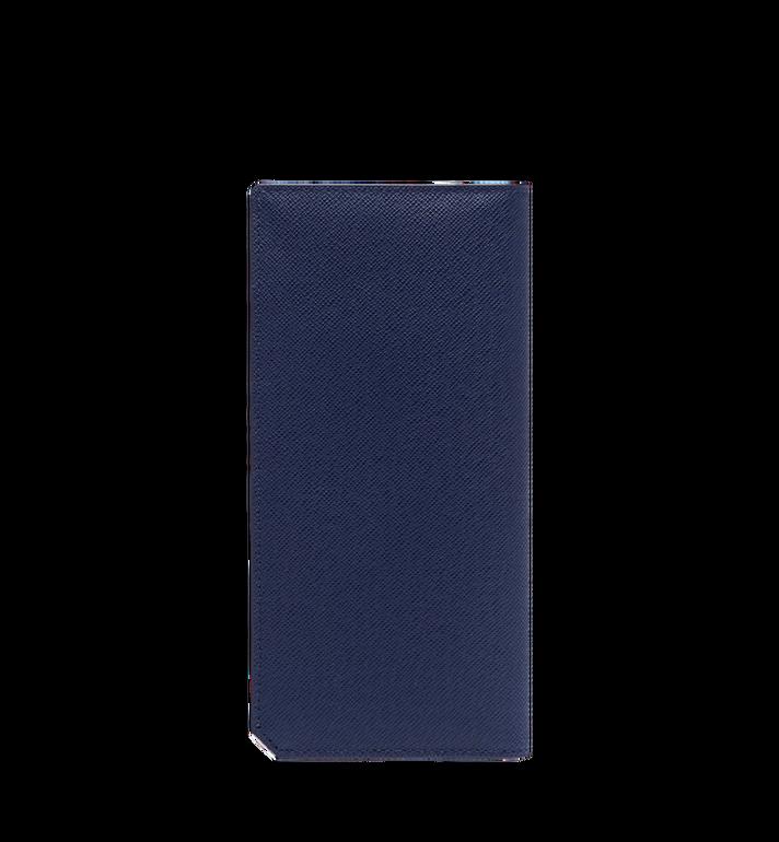 MCM 〈ニュー ブリック〉エンボスレザー 二つ折り長財布 Navy MXL8ALL50VY001 Alternate View 3