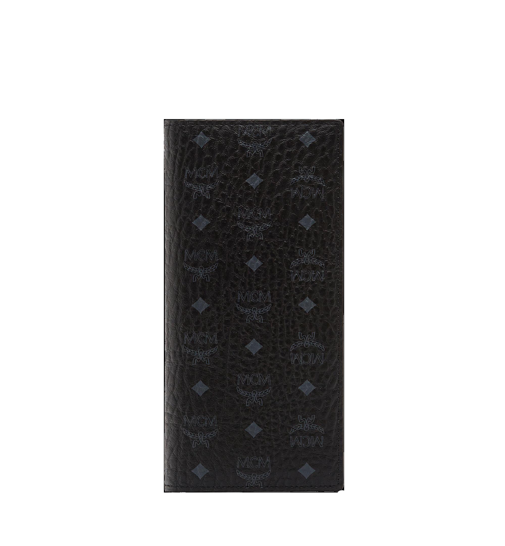 MCM 〈ヴィセトス オリジナル〉二つ折りロングウォレット Black MXL8SVI70BK001 Alternate View 1