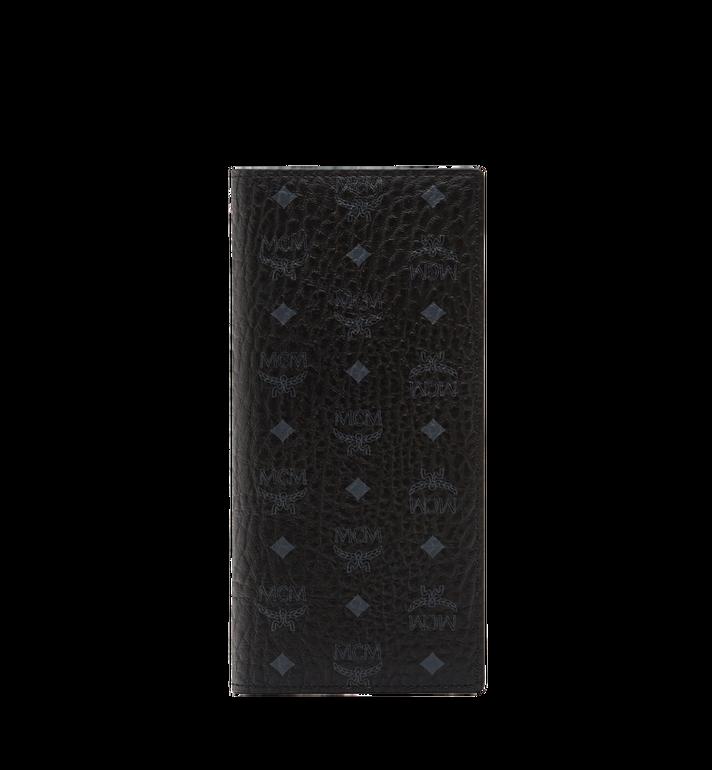 MCM Long Bifold Wallet in Visetos Original MXL8SVI70BK001 AlternateView