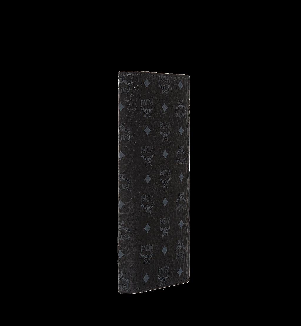 MCM Long Bifold Wallet in Visetos Original Black MXL8SVI70BK001 Alternate View 1