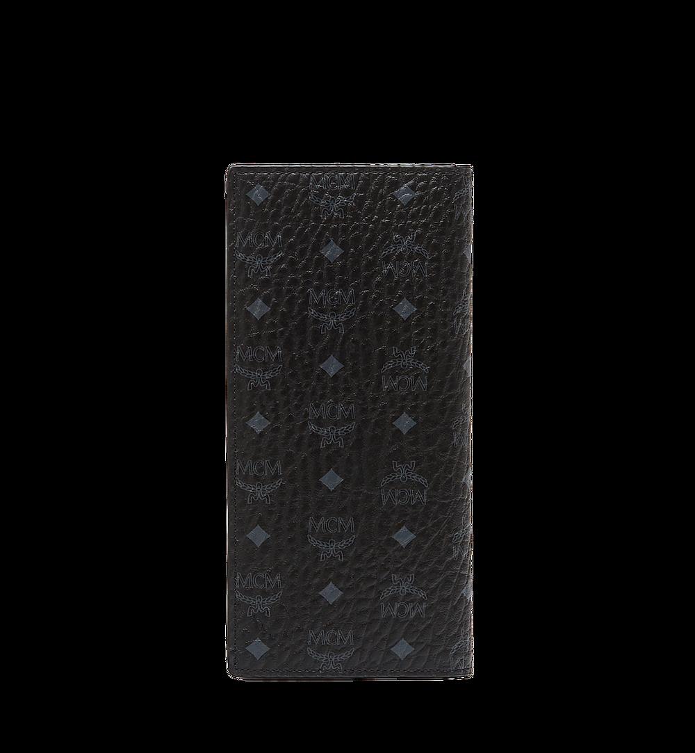 MCM Original lange gefaltete Brieftasche in Visetos Black MXL8SVI70BK001 Noch mehr sehen 2