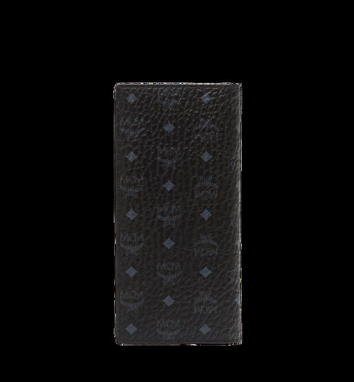 MCM Long Bifold Wallet in Visetos Original MXL8SVI70BK001 AlternateView3