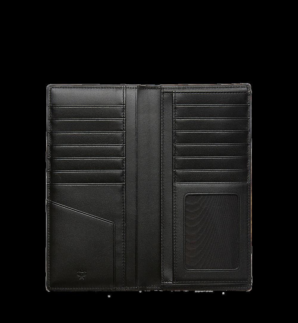 MCM Original lange gefaltete Brieftasche in Visetos Black MXL8SVI70BK001 Noch mehr sehen 3