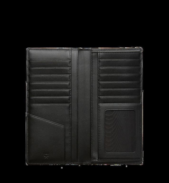 MCM Long Bifold Wallet in Visetos Original MXL8SVI70BK001 AlternateView4