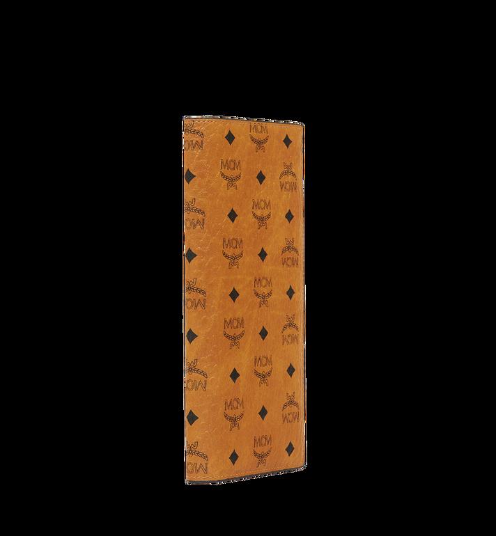MCM Original lange gefaltete Brieftasche in Visetos Cognac MXL8SVI70CO001 Alternate View 2