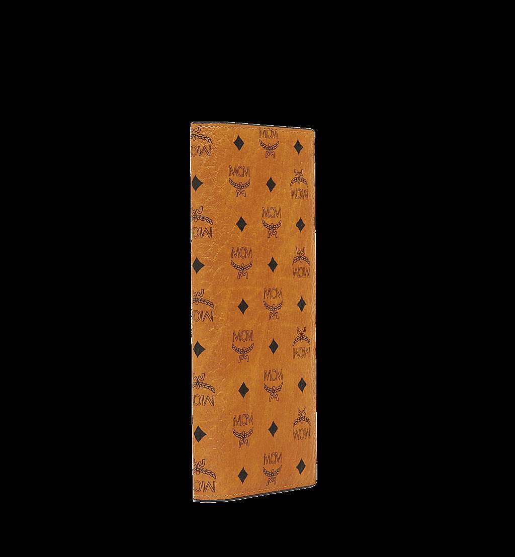 MCM Original lange gefaltete Brieftasche in Visetos Cognac MXL8SVI70CO001 Noch mehr sehen 1