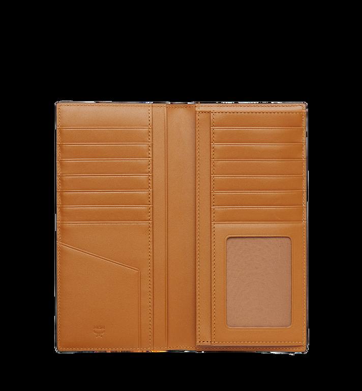 MCM Long Bifold Wallet in Visetos Original Cognac MXL8SVI70CO001 Alternate View 4