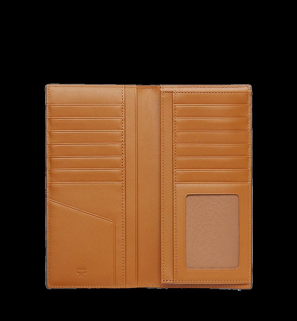 MCM Long Bifold Wallet in Visetos Original Cognac MXL8SVI70CO001 Alternate View 3