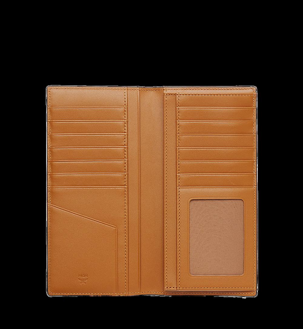 MCM Original lange gefaltete Brieftasche in Visetos Cognac MXL8SVI70CO001 Noch mehr sehen 3
