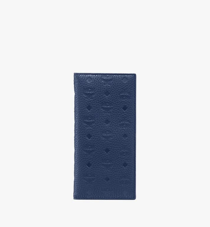 MCM Tivitat Long Bifold Wallet in Monogram Leather Alternate View
