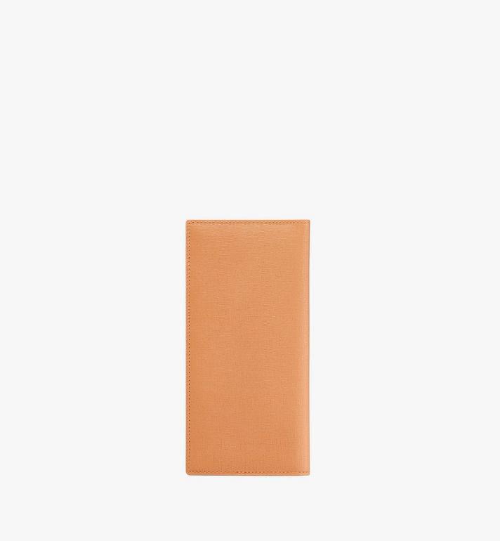 MCM Coburg Long Bifold Wallet in Crossgrain Leather Alternate View 2