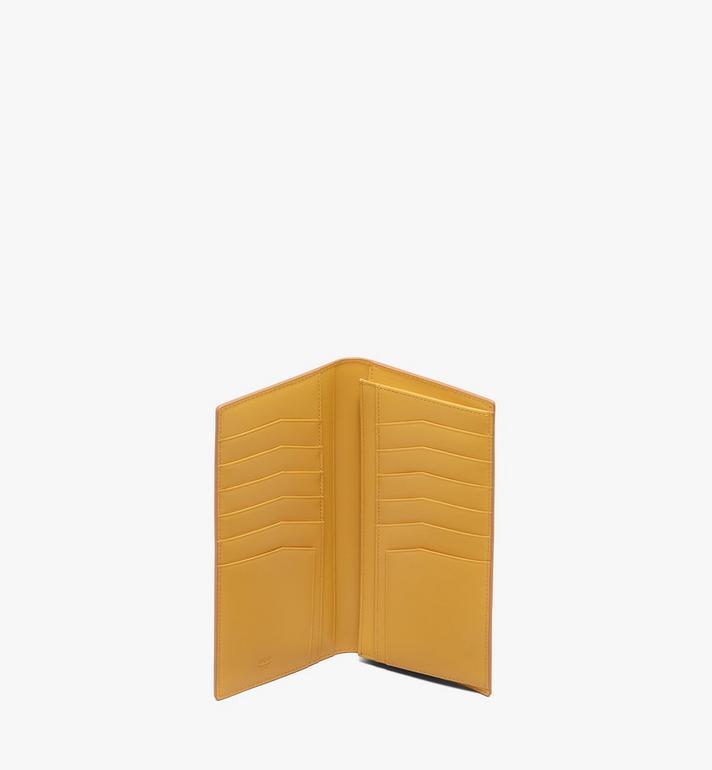 MCM Coburg Long Bifold Wallet in Crossgrain Leather Alternate View 3