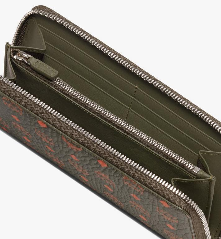 MCM Brieftasche mit Reissverschluss in Visetos  MXL9AVI40G8001 Alternate View 3