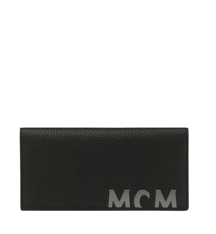 MCM 뉴 빅 로고 2단 장지갑 Black MXL9SBM02BK001 Alternate View 1