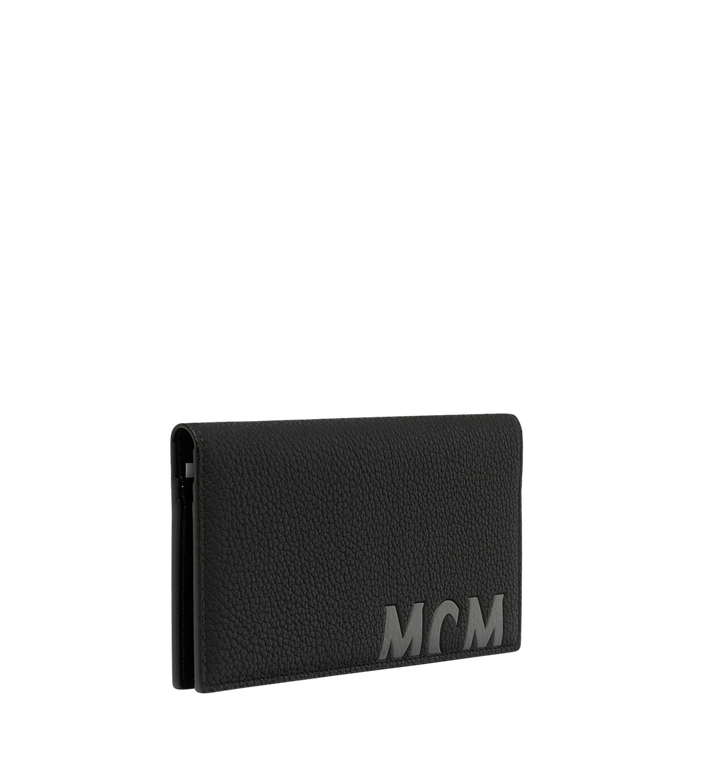 MCM 뉴 빅 로고 2단 장지갑 Black MXL9SBM02BK001 Alternate View 2
