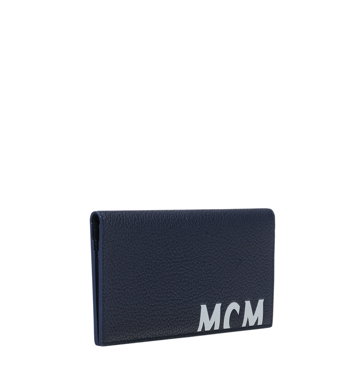 MCM 뉴 빅 로고 2단 장지갑 Navy MXL9SBM02VY001 Alternate View 2