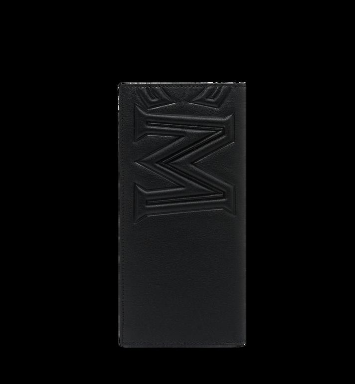 MCM MCM 인젝션 로고 2단 장지갑 Black MXL9SCL01BK001 Alternate View 3