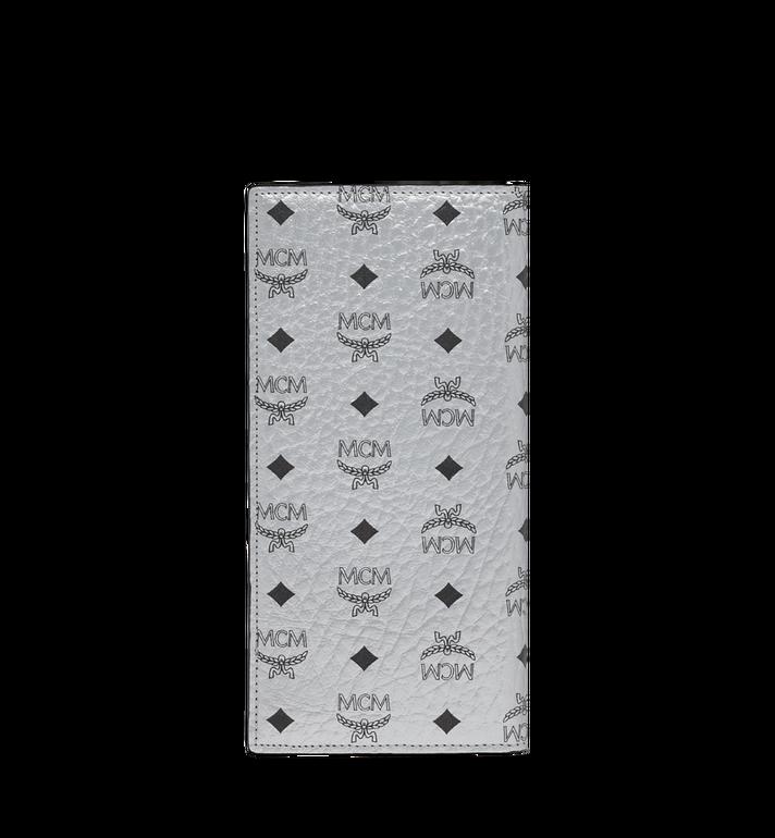 MCM Lange gefaltete Brieftasche in Visetos Original Silver MXL9SVI70SB001 Alternate View 3