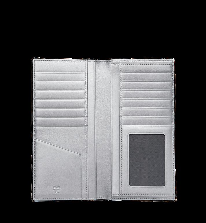 MCM Lange gefaltete Brieftasche in Visetos Original Silver MXL9SVI70SB001 Alternate View 4