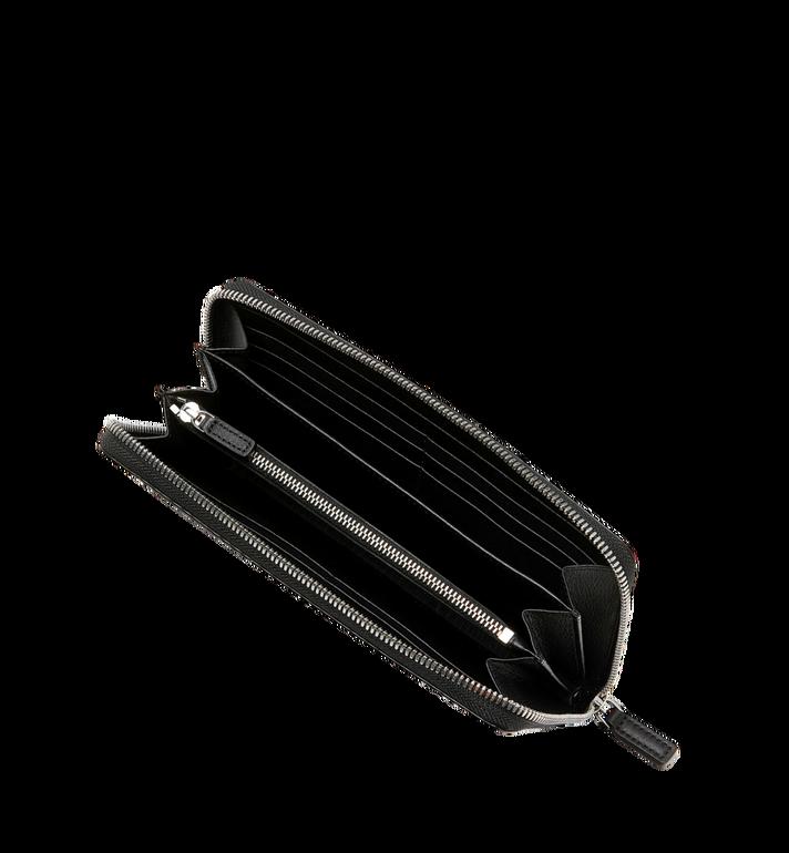 MCM Reissverschlussbrieftasche mit Handgelenksband und Visetos-Logo in Weiss AlternateView4