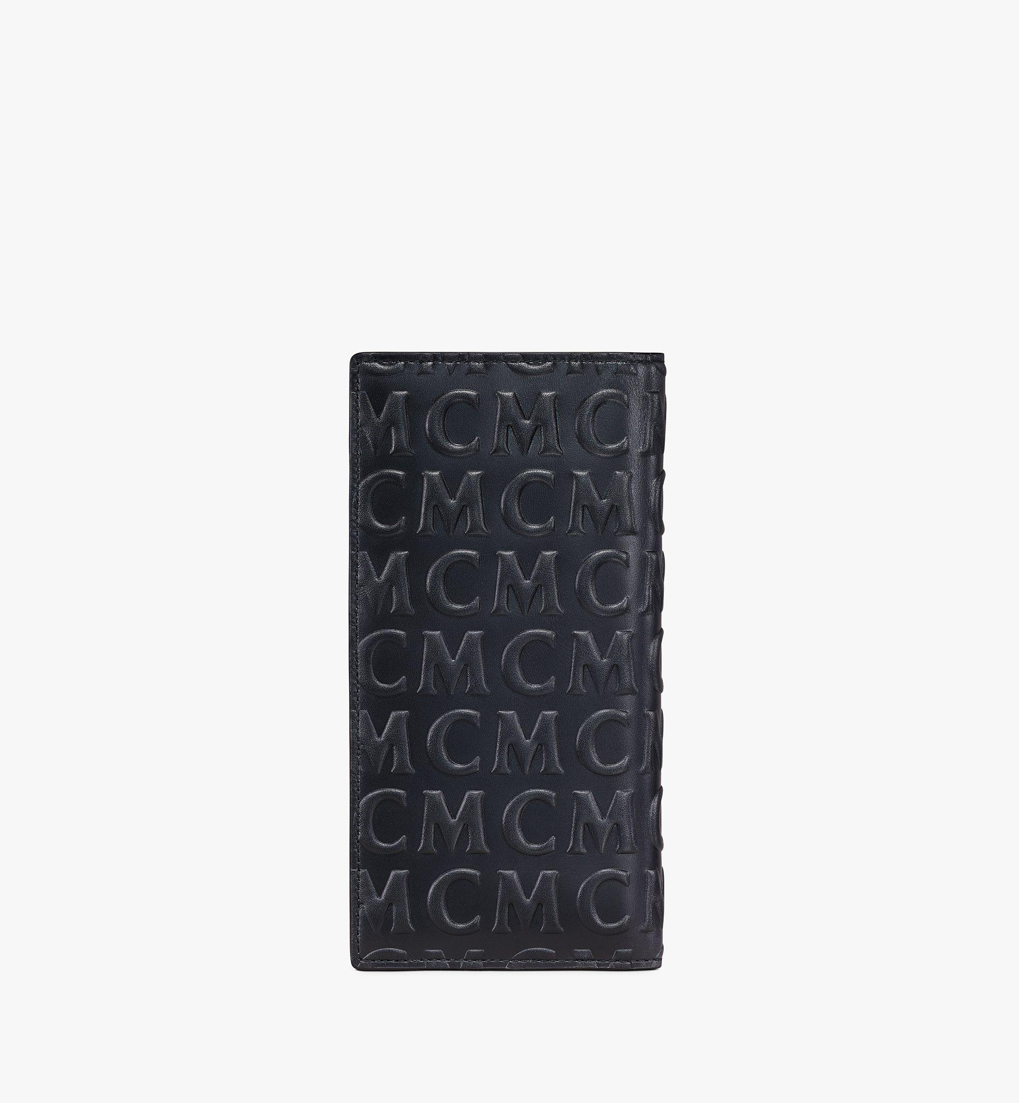 MCM Continental Wallet in MCM Monogram Leather Black MXLAAMD02BK001 Alternate View 2