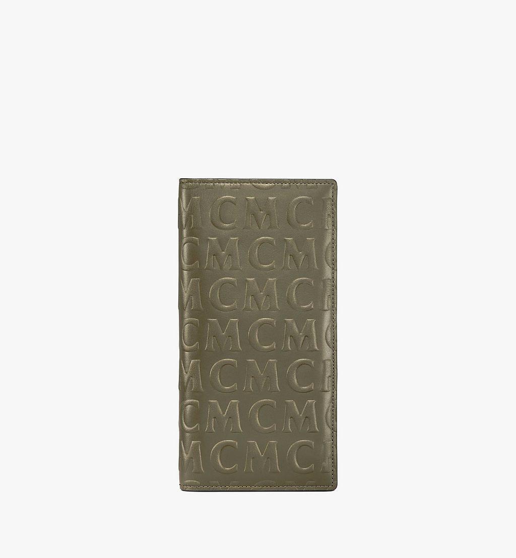 MCM Kontinentale Lederbrieftasche mit MCM-Monogramm Black MXLAAMD02JH001 Noch mehr sehen 1