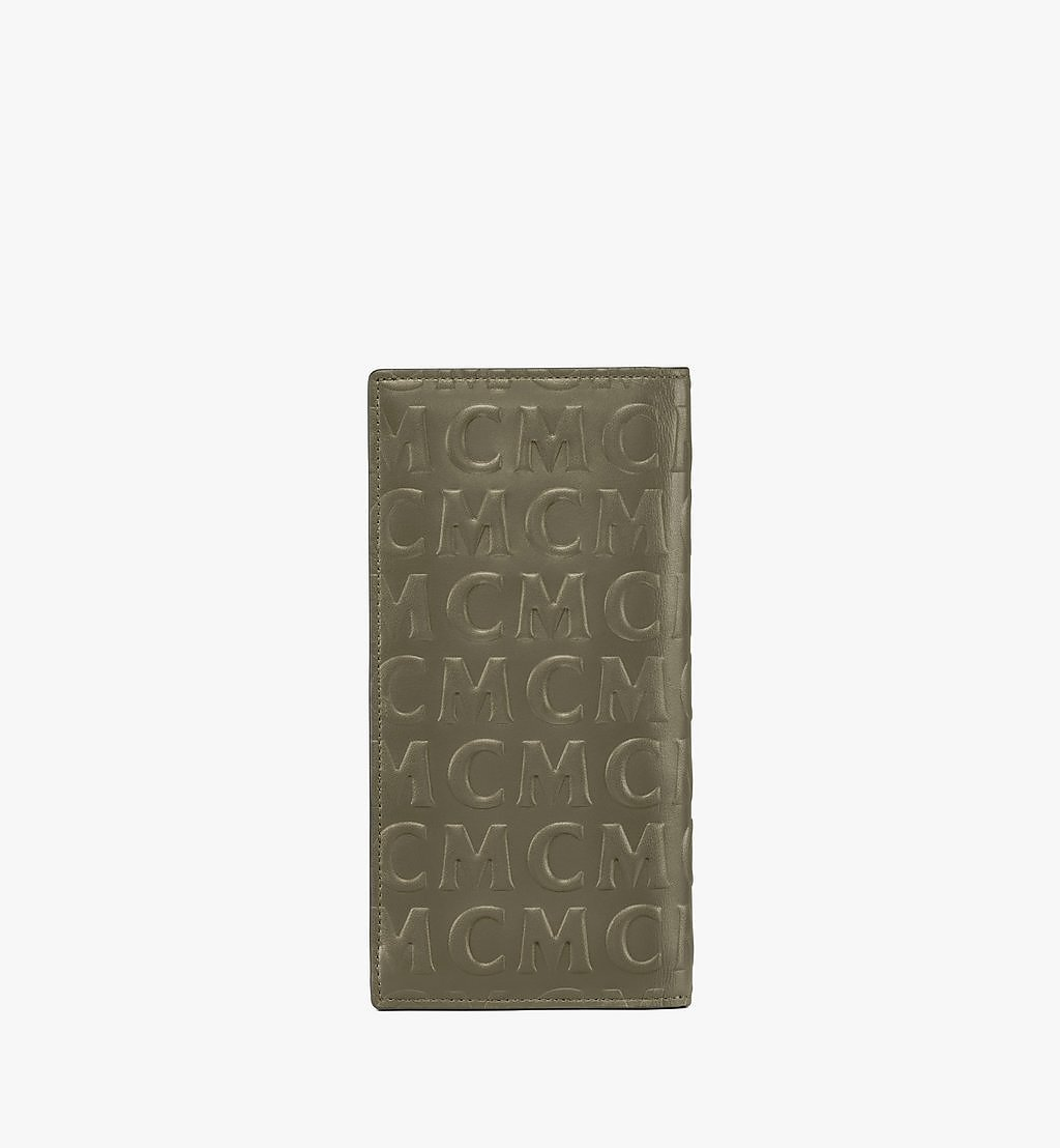 MCM Continental Wallet in MCM Monogram Leather Black MXLAAMD02JH001 Alternate View 2
