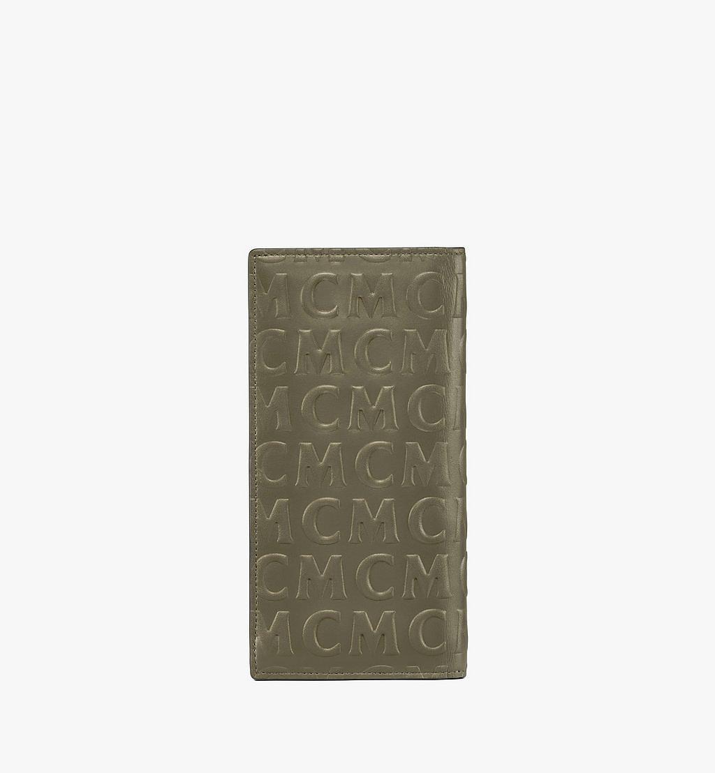 MCM Kontinentale Lederbrieftasche mit MCM-Monogramm Black MXLAAMD02JH001 Noch mehr sehen 2