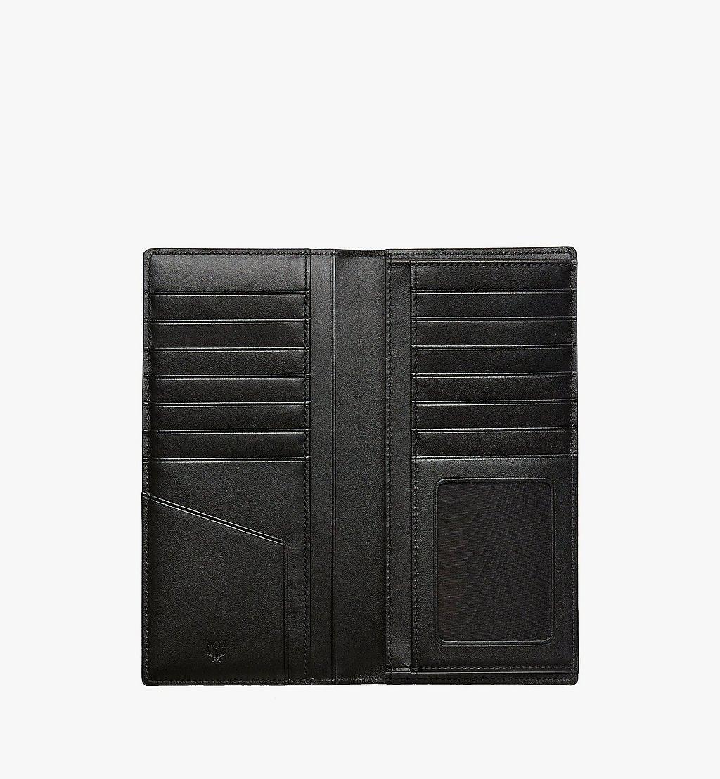 MCM Continental Wallet in Visetos Original Black MXLAAVI02BK001 Alternate View 3