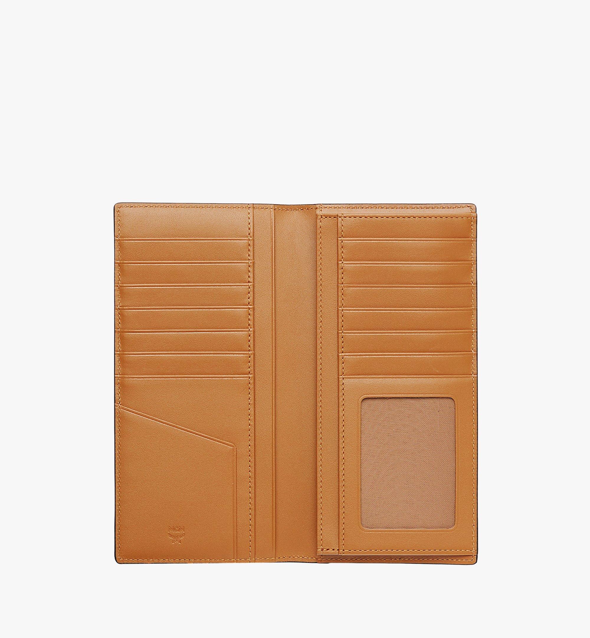 MCM Continental Wallet in Visetos Original Cognac MXLAAVI02CO001 Alternate View 3